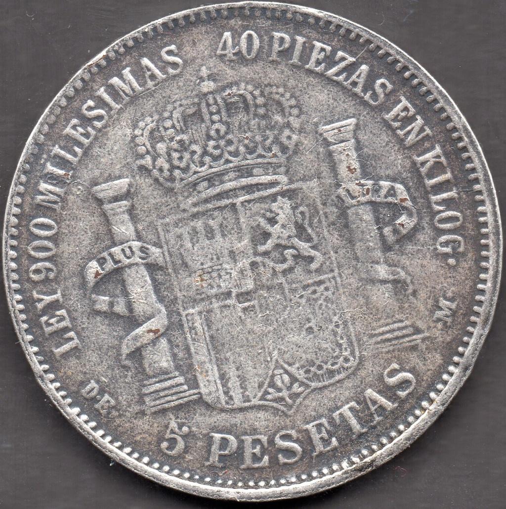 5 Pesetas 1871 Es Autentica ? Img07010