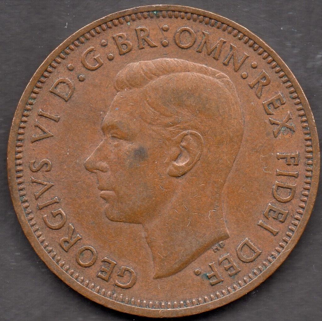 Half Penny 1949. Reino Unido. Img07710