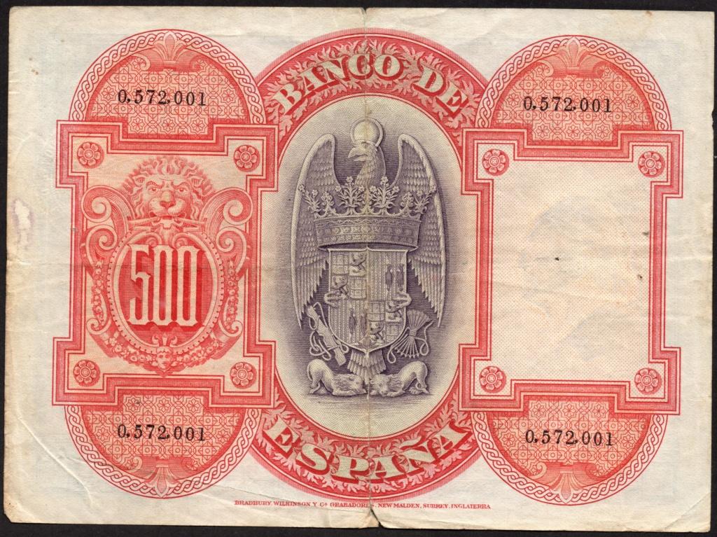500 Pesetas 1927. Img10010