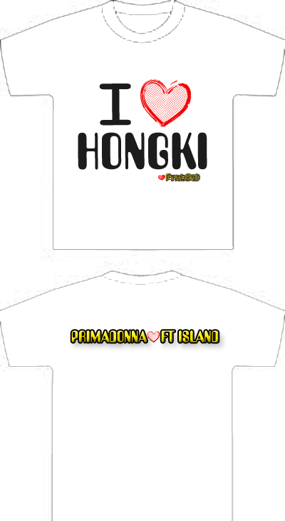 New Design For MY FT Island Tee... pls vote... Ilhong11