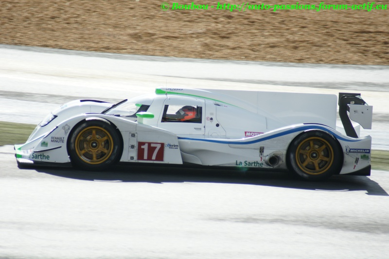 Essais Dome Pescarolo LMP1 - OAK Racing LMP1 & LMP2 Jeudi 19/04/12  Le Mans Circuit Bugatti   Fb176