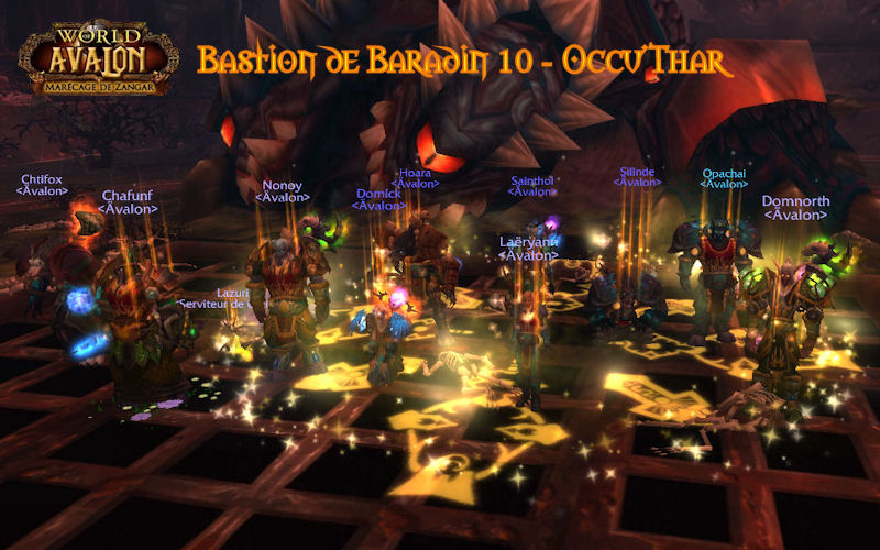 Cataclysm - Bastion de Baradin 10 11070610