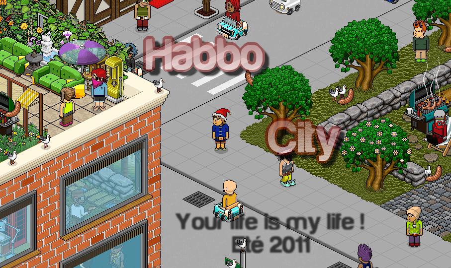 Habbo-City, une ville, une vie et bien plus encore