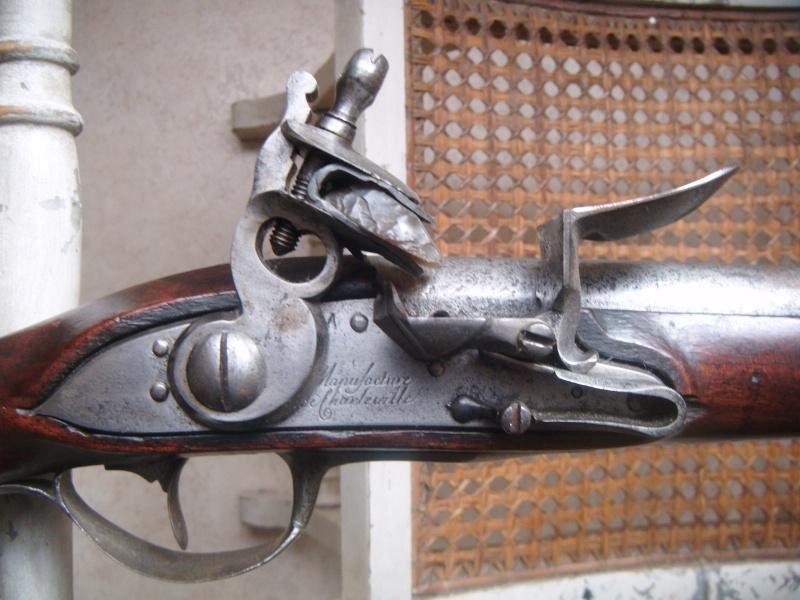 MOUSQUETON MARECHAUSSEE 1770 Dscf4331