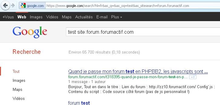 moteur de recherche Google absent depuis quelques jours ? Recher11