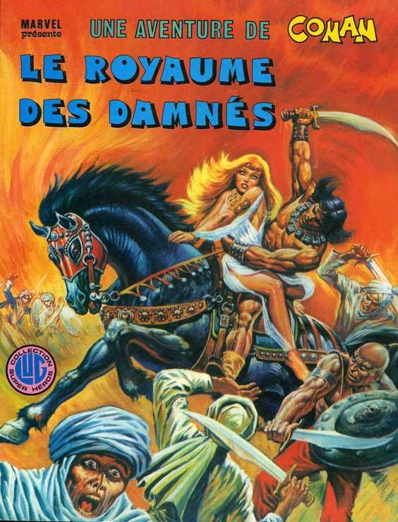 """#01 Une aventure de Conan """"Le Colosse noir"""" et """"La montagne de la lune"""" Co110"""