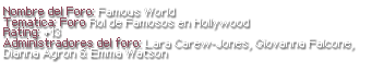 Famous World {Normal/Nuevo} Hjtynj10