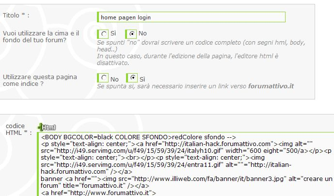 [Risolto] pagina intro html Proble10