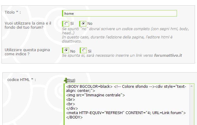 [Risolto] pagina intro html Proble11