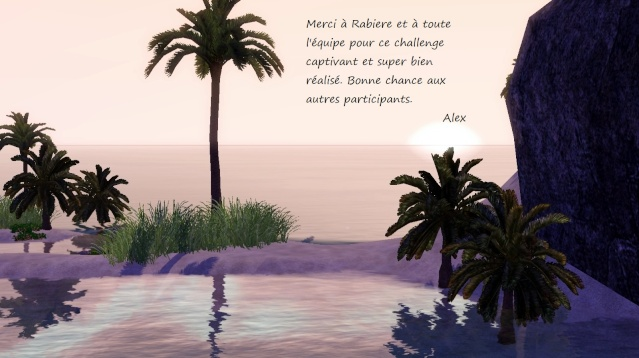 [Challenge] L'île Perdue - Page 6 Merci10