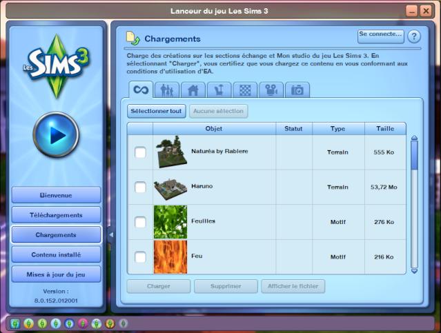 Comment partager du contenu personnalisé (Sims3Pack) ? Screen15