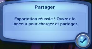 Comment partager du contenu personnalisé (Sims3Pack) ? Screen20
