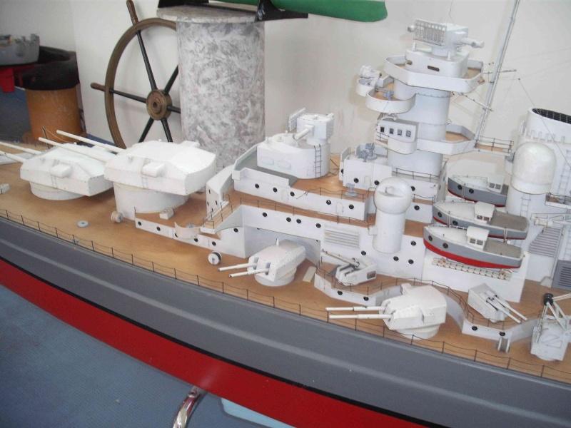 """Restauration eines 1:67er Modells der """"Bismarck"""". - Seite 3 1216"""