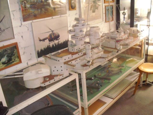 """Restauration eines 1:67er Modells der """"Bismarck"""". 3_web11"""