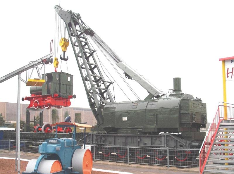 Ein alter Eisenbahndampfkran. 3_web27