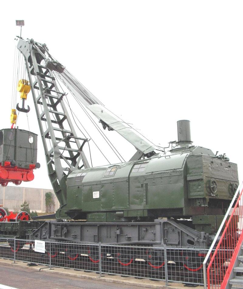 Ein alter Eisenbahndampfkran. 4_web28