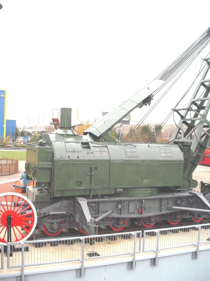 Ein alter Eisenbahndampfkran. 5_web25
