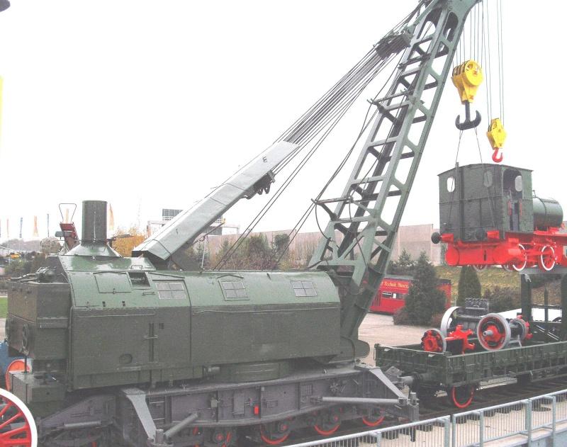 Ein alter Eisenbahndampfkran. 7_web27