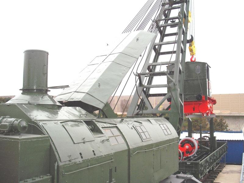 Ein alter Eisenbahndampfkran. 8_web28