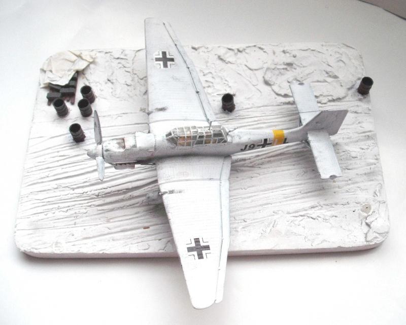 JU-87 Stuka im Winter. Dscf0219