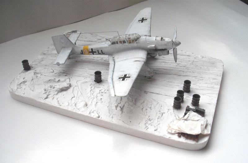JU-87 Stuka im Winter. Dscf0220