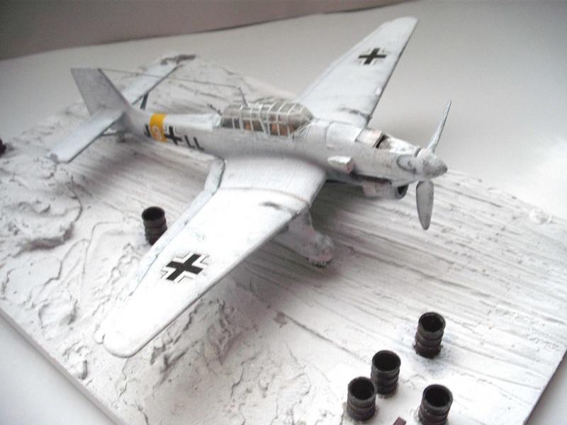 JU-87 Stuka im Winter. Dscf0222