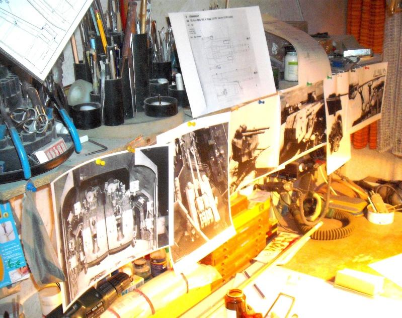 """Restauration eines 1:67er Modells der """"Bismarck"""". - Seite 9 Dscf1711"""