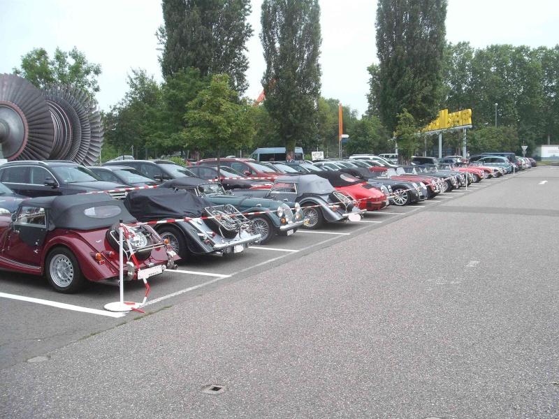 Kleines Morgan- Sportwagentreffen im Technikmuseum Speyer. Dscf4510