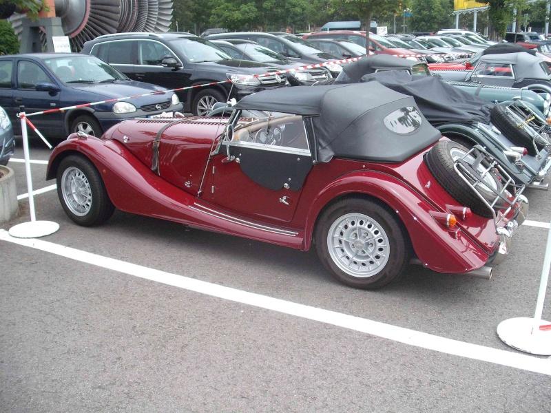 Kleines Morgan- Sportwagentreffen im Technikmuseum Speyer. Dscf4511