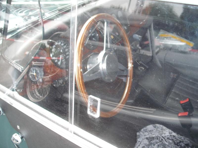 Kleines Morgan- Sportwagentreffen im Technikmuseum Speyer. Dscf4520