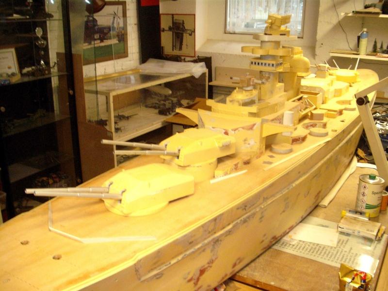 """Restauration eines 1:67er Modells der """"Bismarck"""". - Seite 14 Dscf6820"""