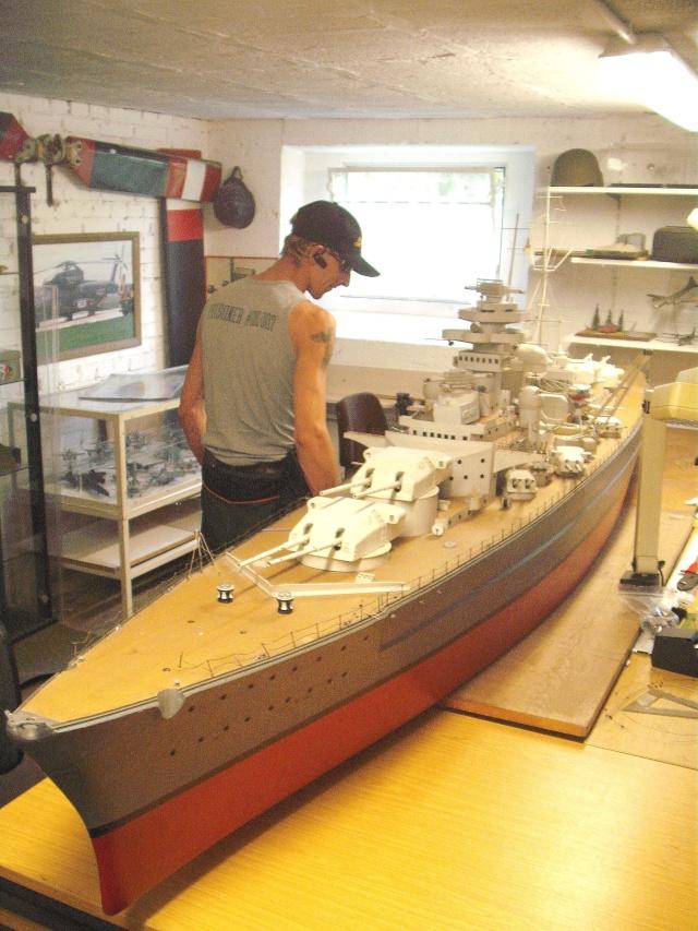 """Restauration eines 1:67er Modells der """"Bismarck"""". Dscf8520"""