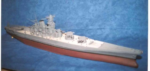 Meine 1:250er Yamato. Yamato10