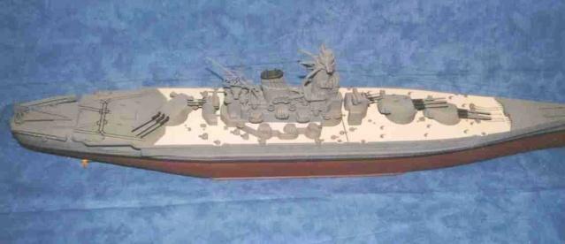 Meine 1:250er Yamato. Yamato11