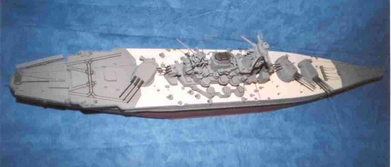 Meine 1:250er Yamato. Yamato12