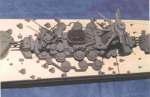 Meine 1:250er Yamato. Yamato13