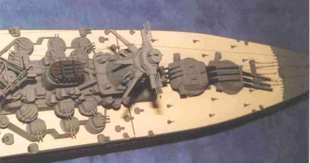 Meine 1:250er Yamato. Yamato14