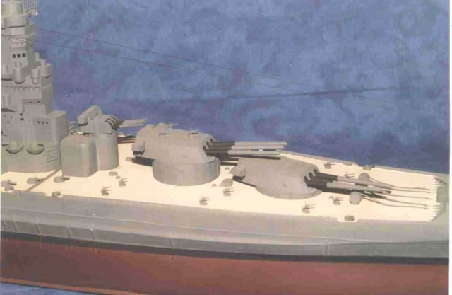 Meine 1:250er Yamato. Yamato15