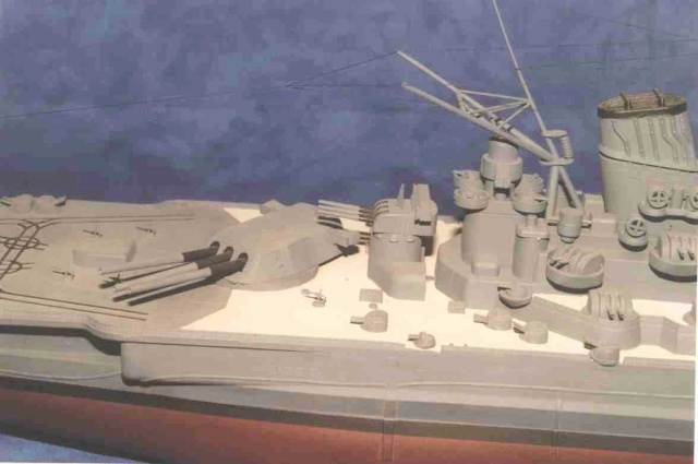 Meine 1:250er Yamato. Yamato16