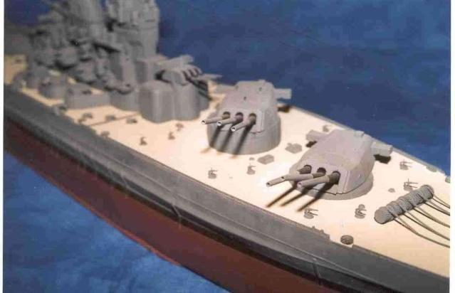 Meine 1:250er Yamato. Yamato18