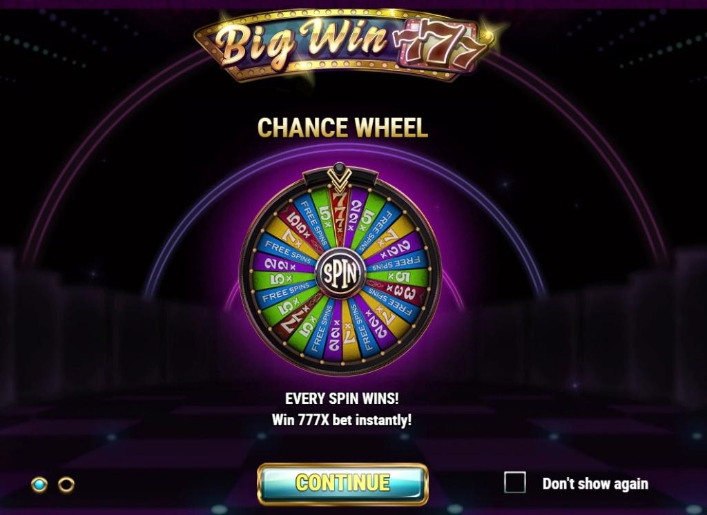 Big Win 777 - Play'N go Bigwin11