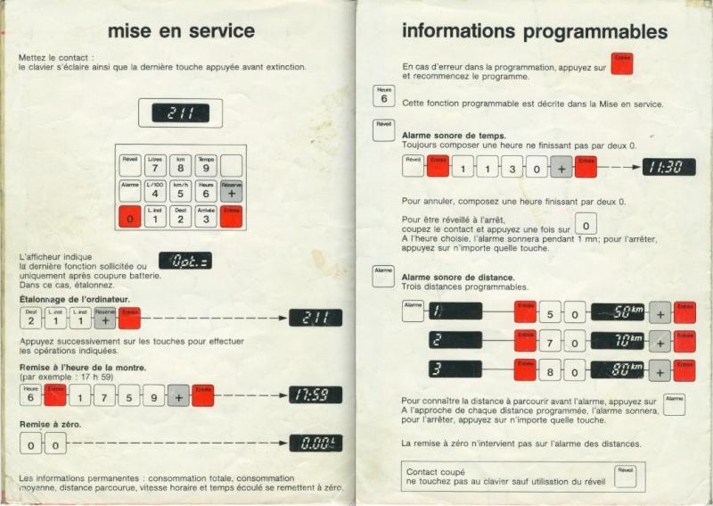 Notice d'emploi BX DIGIT Spécificités et Ordinateur de bord Captur26