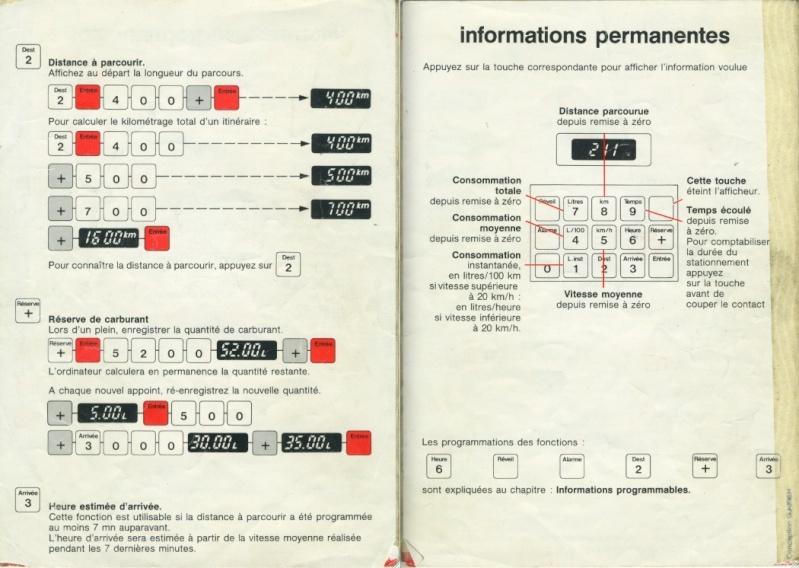 Notice d'emploi BX DIGIT Spécificités et Ordinateur de bord Captur27