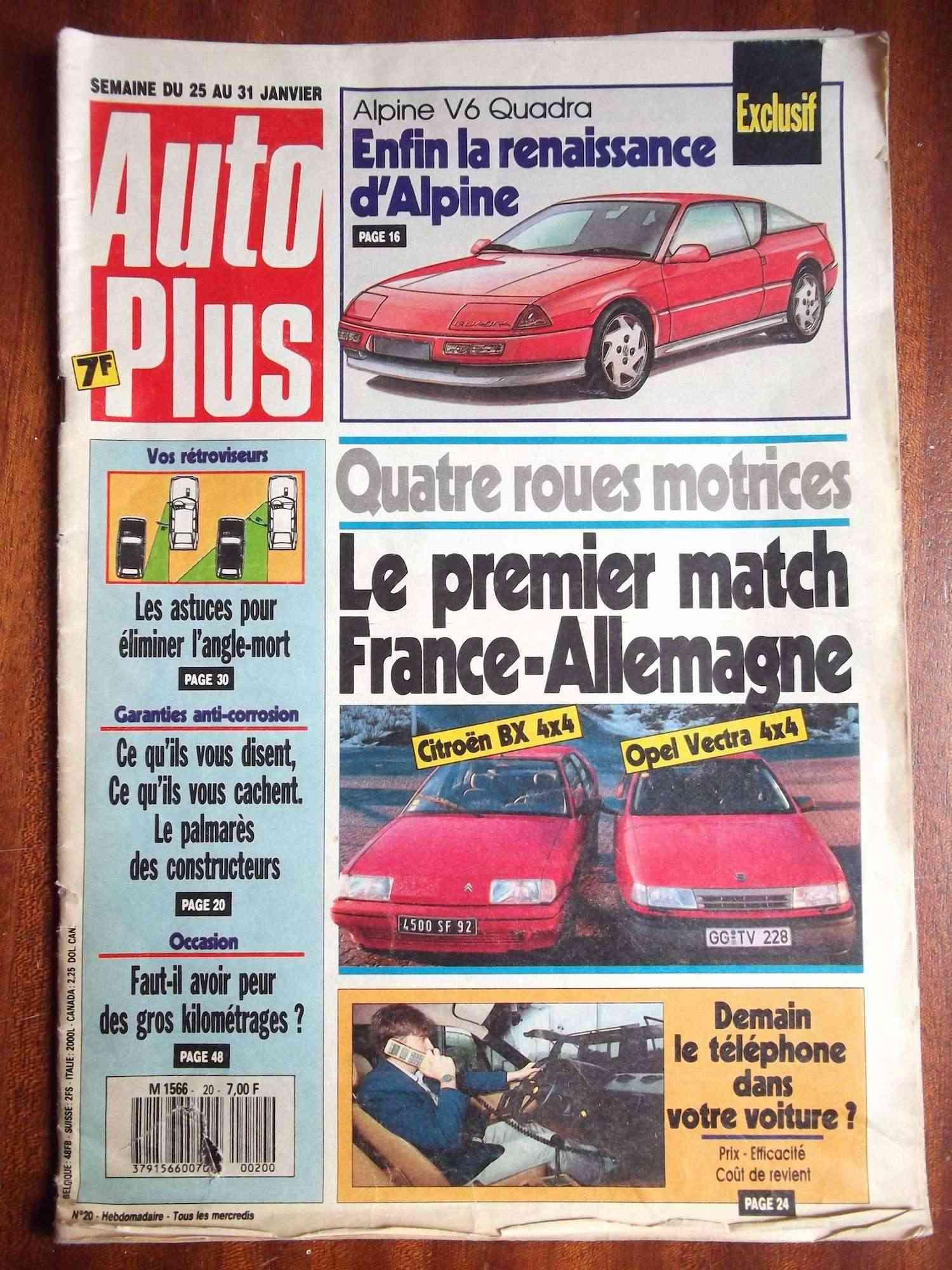 Magazine sur la BX Dscf2221
