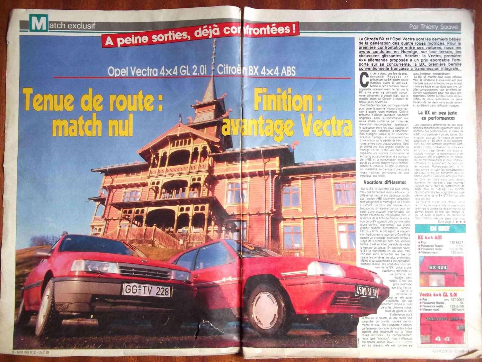 Magazine sur la BX Dscf2222