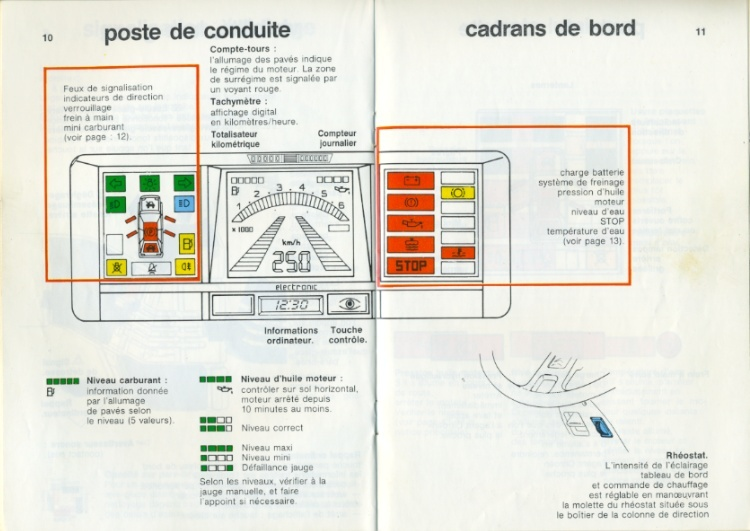 Notice d'emploi BX DIGIT Spécificités et Ordinateur de bord Notice16