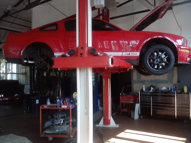 Shelby GT500 Rearend Upgrade! Lifted12
