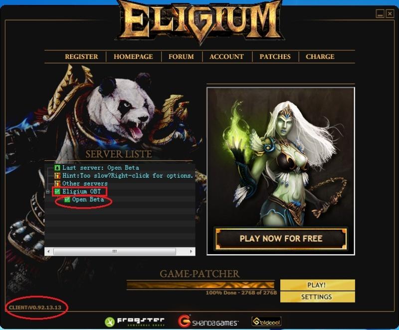 [Eligium] Open Beta Launch Launch10
