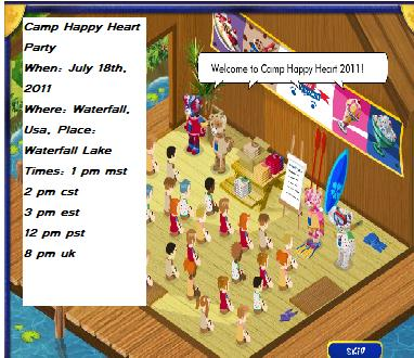 Camp Happy Heart Party *Date & Time Changed* Camp10