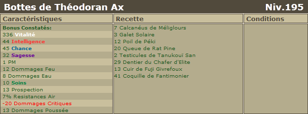 Nouvelles panoplies 2.9 Bottes10